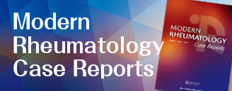 Modern Rheumatology Case Reports
